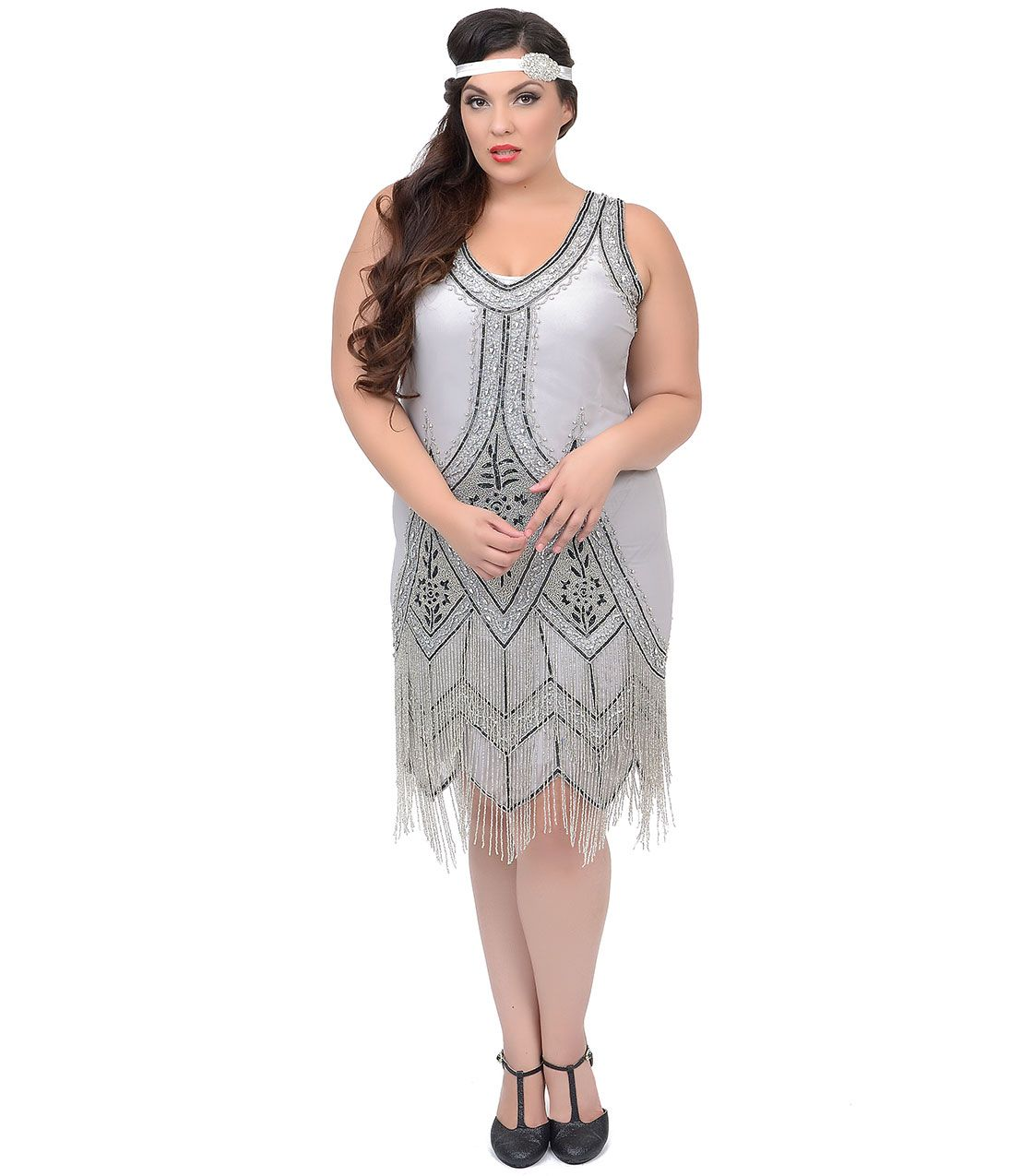 plus size flapper dress with sleeves gallery - dresses design ideas