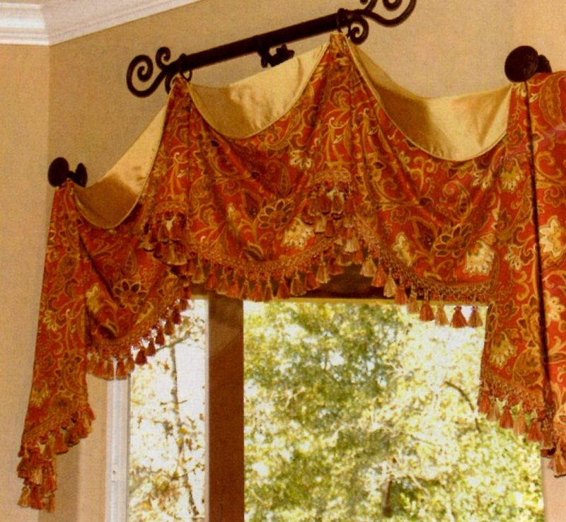 Custom Valances   Custom Curtains   Valances   Window Treatments ...