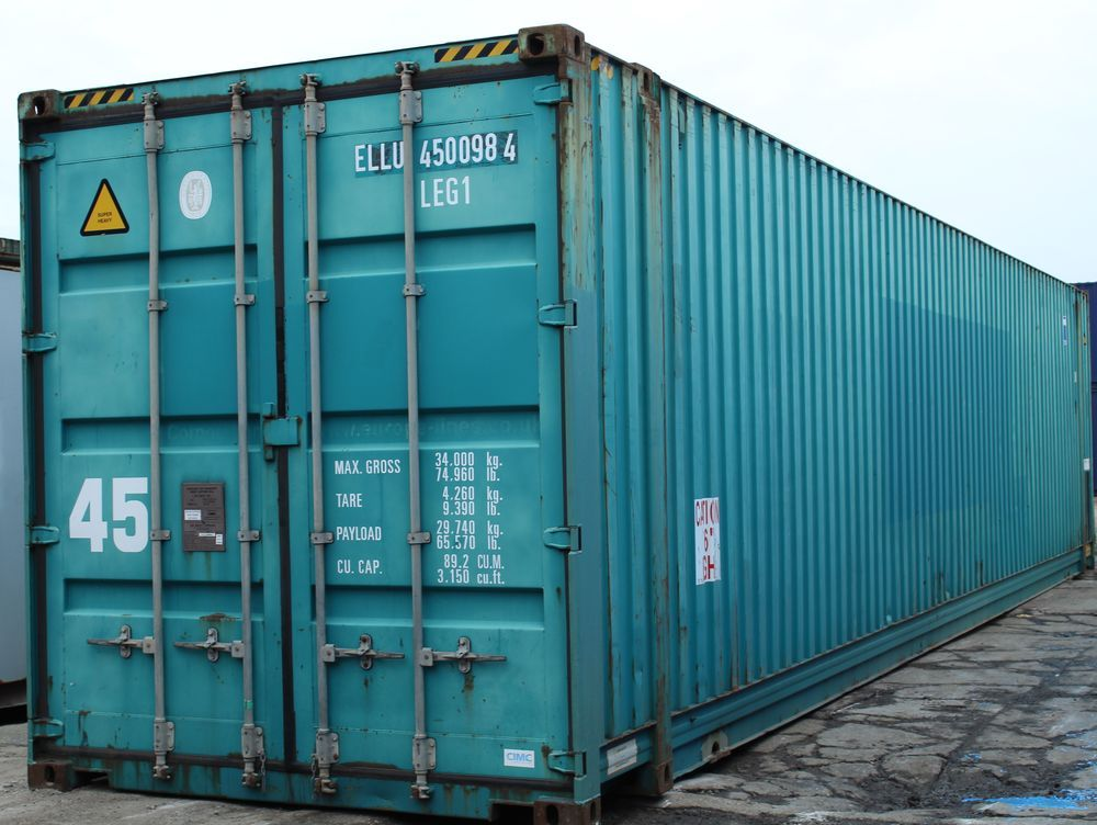 45ft Used Shipping Containers   Containers Direct in 2020 ...