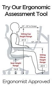 Calculate The Ideal Height For Your Ergonomic Desk Chair And Keyboard Ergonomic Office Ergonomic Desk Ergonomic Desk Height
