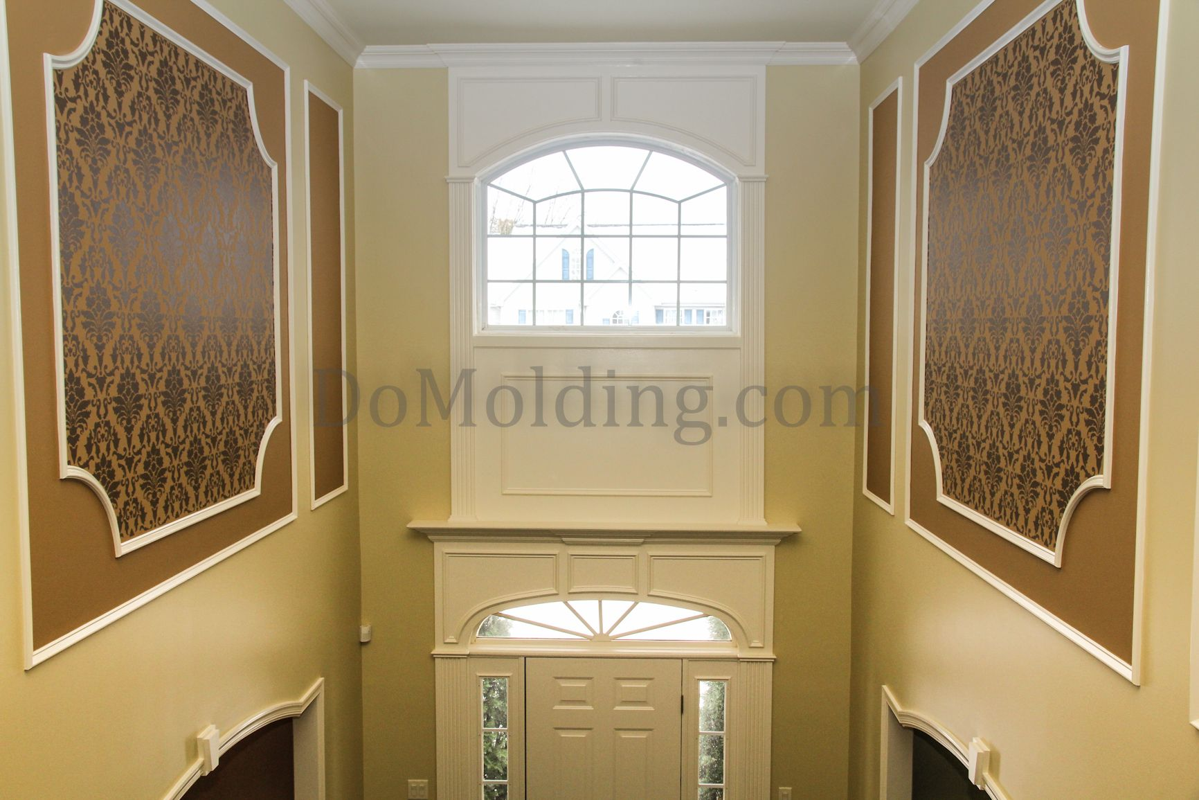 Wall Panel Molding Designs Installation Crown Molding