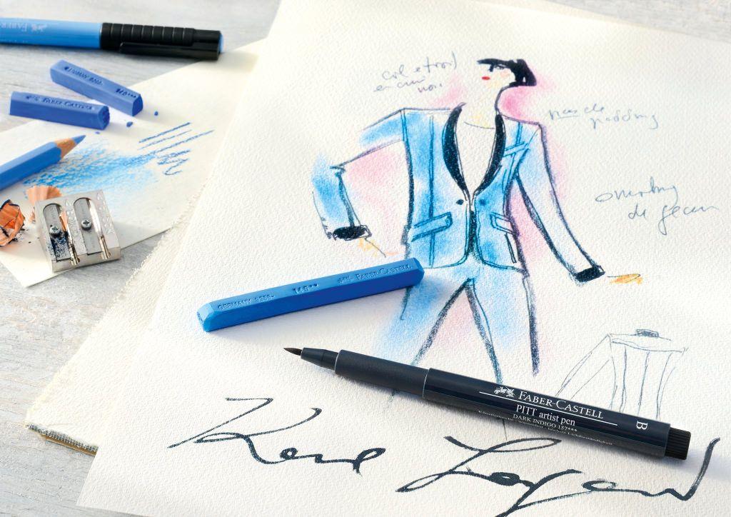 Karl Lagerfeld e Faber Castell lançarão kit de desenho
