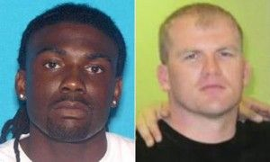 Left is Tremaine Wilbourn, suspect in killing of Sean Bolton R, Memphis police officer.