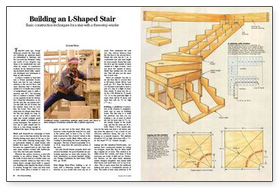 Basic Construction Techniques For A Stair With A Three