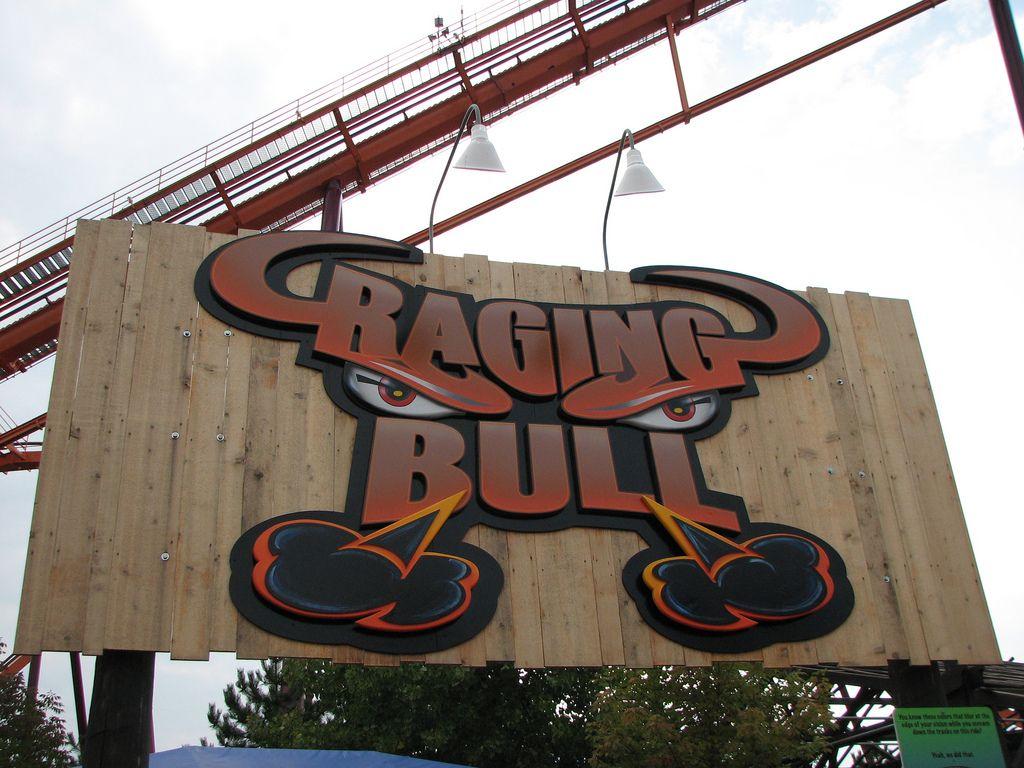 Six Flags Great America 189 Great America America Raging Bull