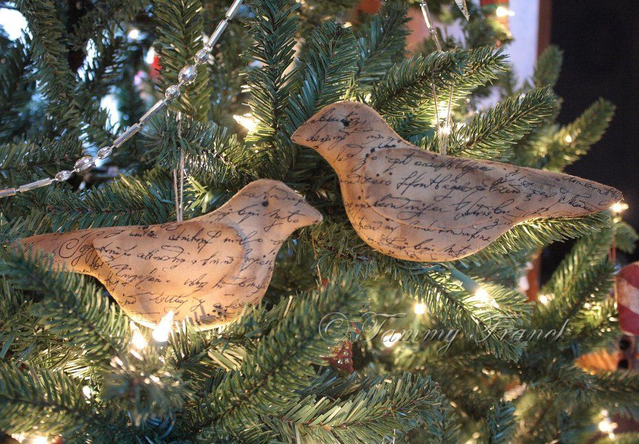 PRIMITIVE BIRD ORNAMENT PRIM ORNIE EASY PATTERN GREAT FOR ALL SEASONS//HOLIDAYS