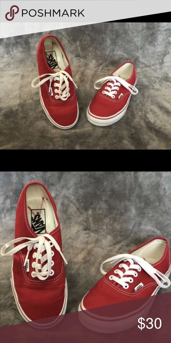 red vans Vans Shoes Sneakers in 2020