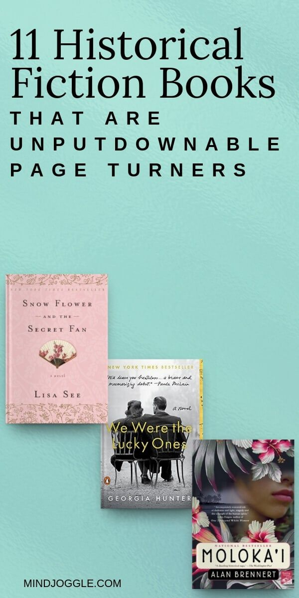 11 Historical Fiction Books that are Unputdownable Page Turners. These riveting historical fiction books will take you to different times and places, and keep you reading if you are trying to read more books. #books #bookstoread #bestbooks #unputdownable #booklist #readinglist #reading #amreading #historicalfiction