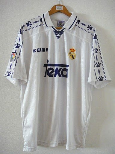 sports shoes d4ce9 ff707 Real Madrid 1996-1997 | Jerseys I own | Madrid football club ...