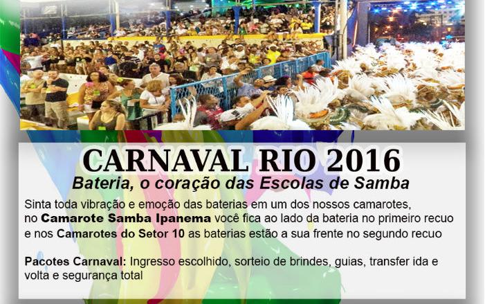 Aproveite o melhor do Carnaval com a RumoNet Viagens!
