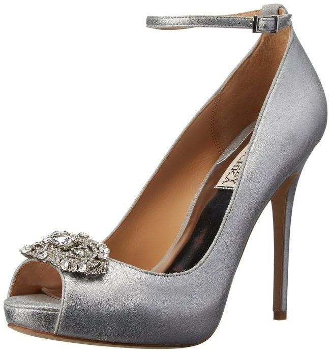 186794f4164b0 Amazon.com: Badgley Mischka Women's Finley II Platform Pump: Badgley ...
