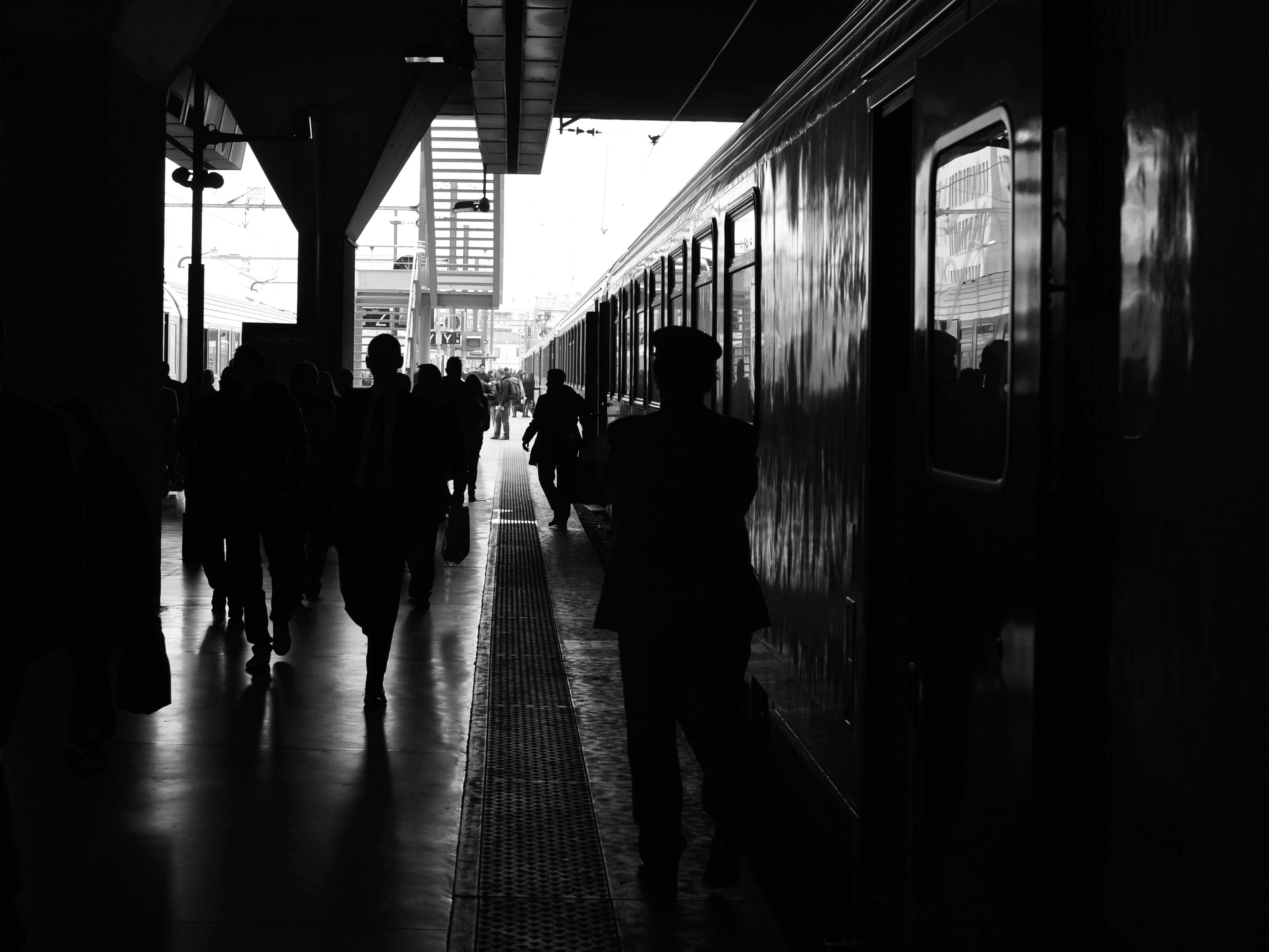 Paysage de gare
