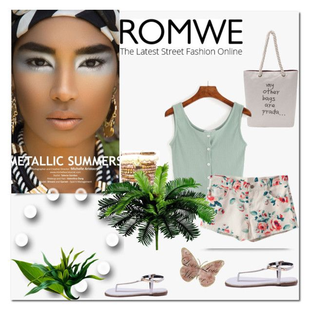 """""""ROMWE"""" by infa-1 ❤ liked on Polyvore"""