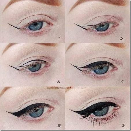 Machiaj De Zi Pas Cu Pas 14 Makeup Cat Eye Makeup Tutorial Cat