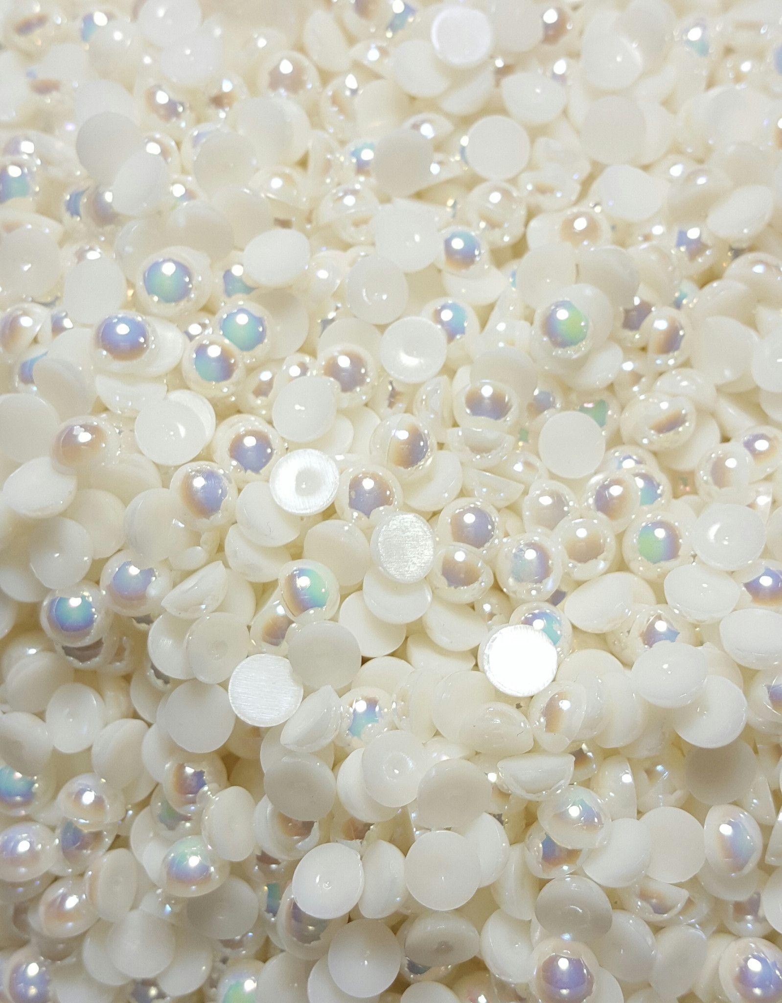 Ivory Ab Pearls