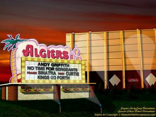 Algiers Drive In Westland Mi On Wayne Road Drive In Theater