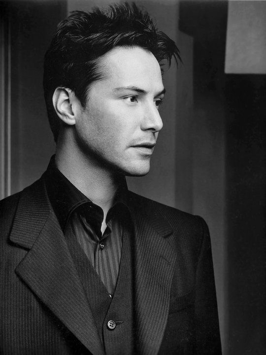 Keanu Reeves - reminds me of someone I know