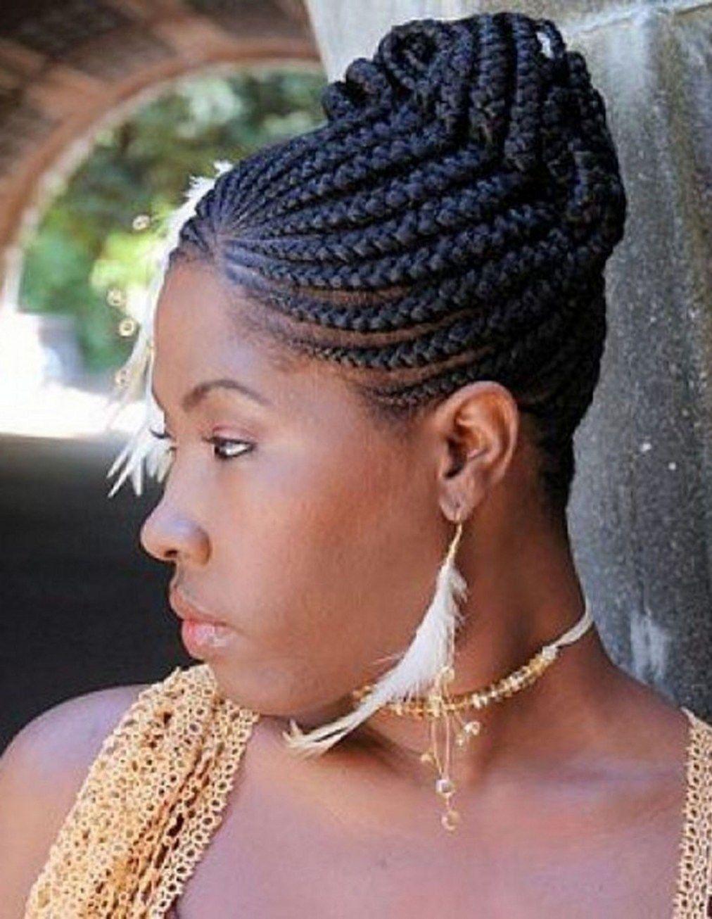 30 Beautiful Black Braided Wedding Hairstyles Braids Pinterest