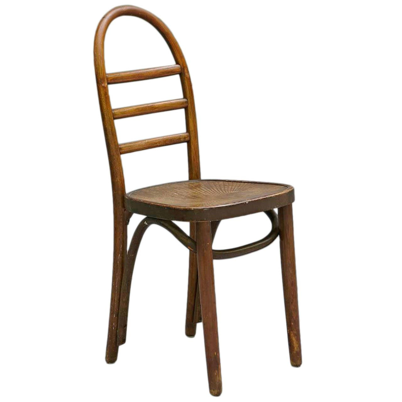 Thonet Bentwood Ladder Back Chair