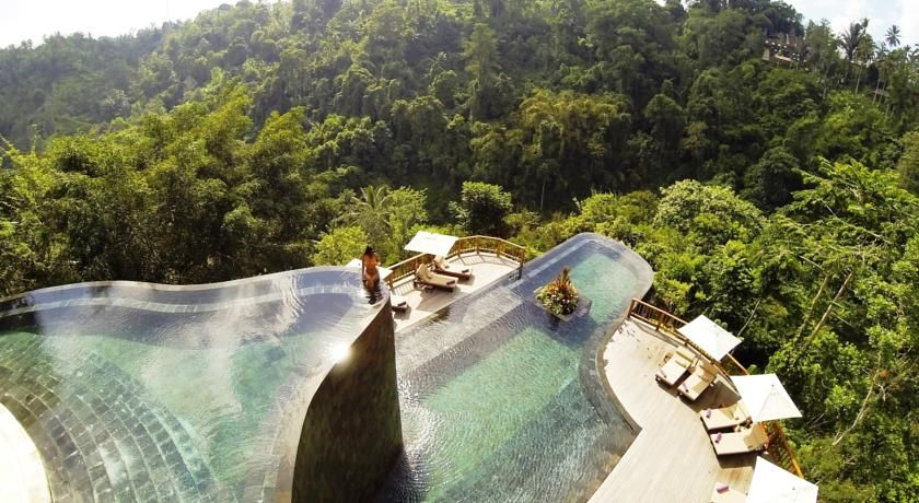 Ubud Hanging Garden Ubud Hanging Gardens Hanging Garden Infinity Pool Bali