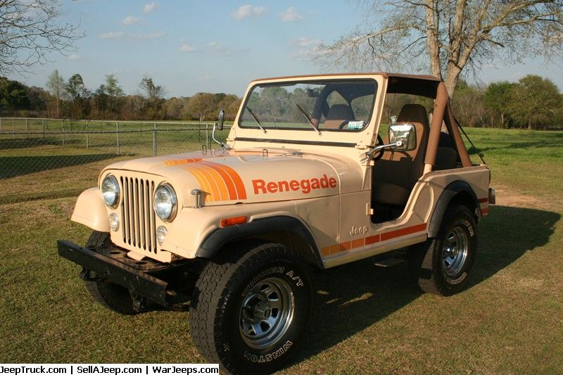 1980 Cj5 Jeep Renegade 1