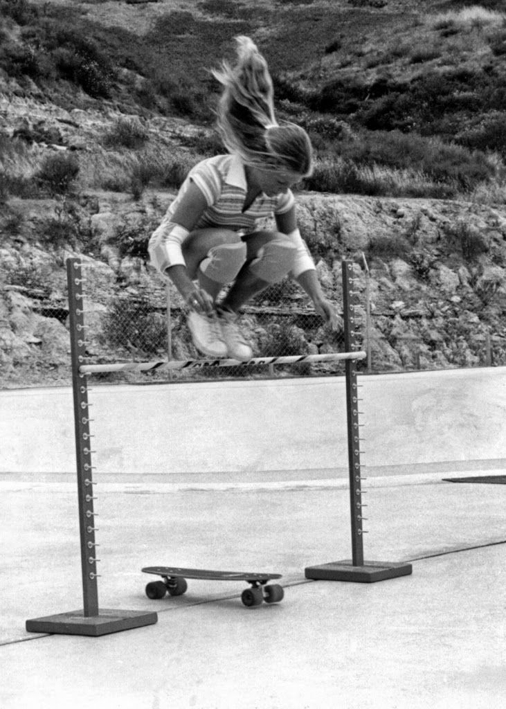 vintage everyday: Portraits of Ellen O'Neal – The Greatest Woman Freestyle Skateboarder in the 1970s