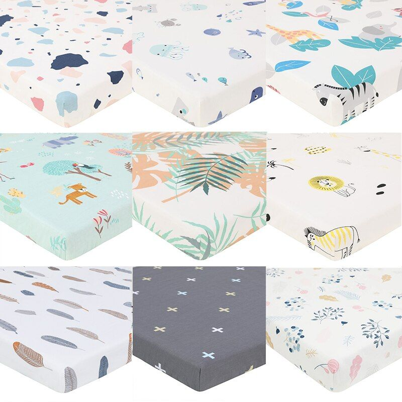 Comfortable Baby Mattress Cover Baby Fitted Sheet Print For Crib Customized Baby Crib Fitted Sheet Soft Baby Bed Sheet 1 Baby Mattress Mattress Covers Baby Bed