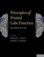 Principles of frontal lobe function / edited by Donald T. Stuss, Robert T. Knight