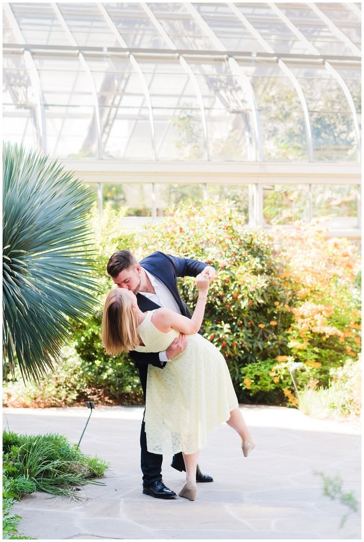 Botanical Gardens Engagement | DC Engagement pictures | DC Wedding Photographer |