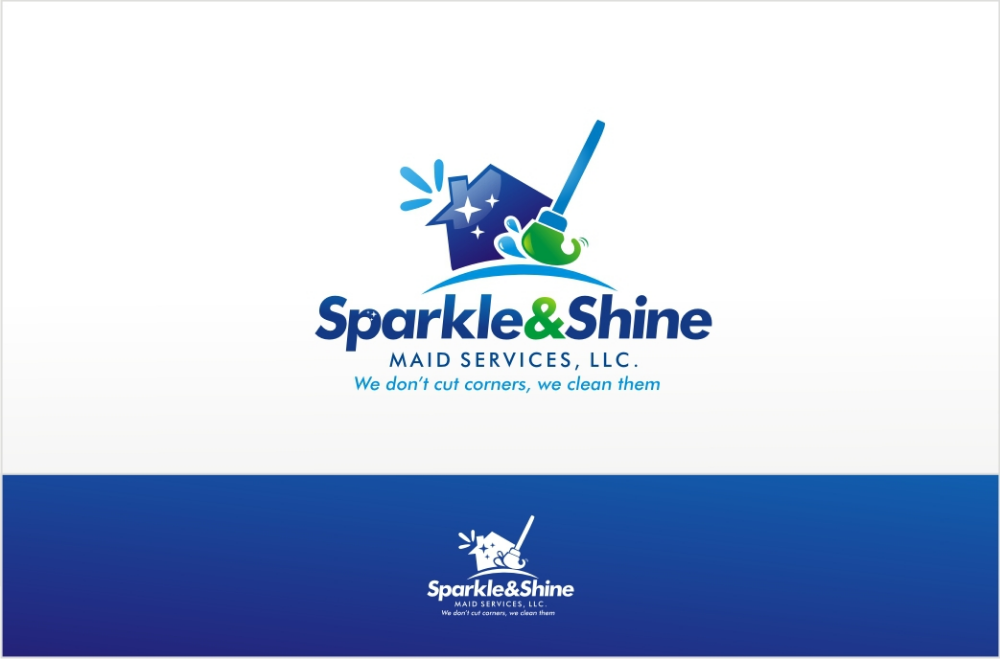 Designs New logo wanted for Sparkle and Shine Cleaning