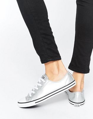 Fashion Converse Chuck Taylor Dainty Metallic Leather Low