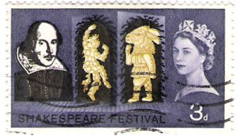 Literature on Stamps: William Shakespeare