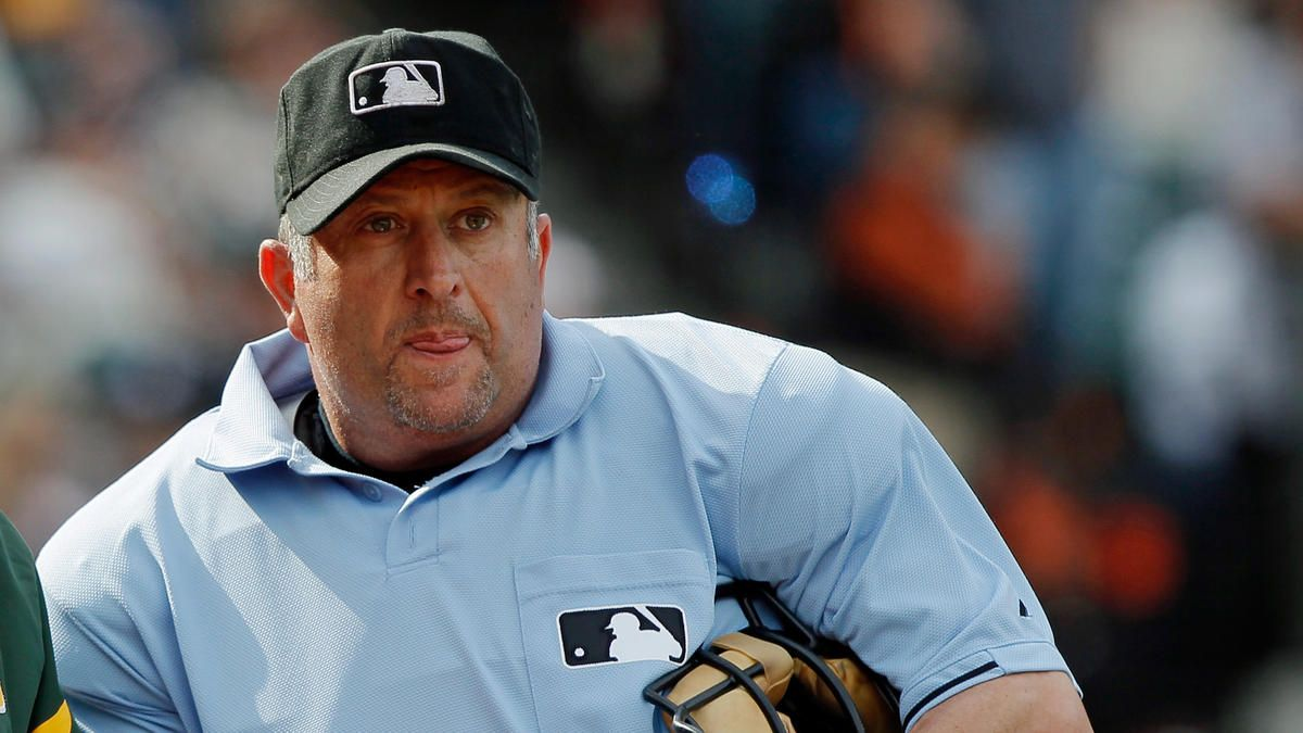 Umpire Dale Scott Sustains Concussion On Trumbo Foul Tip