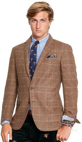 $895, Polo Ralph Lauren Polo Glen Plaid Sport Coat. Glen PlaidPreppy  MenCoats ...
