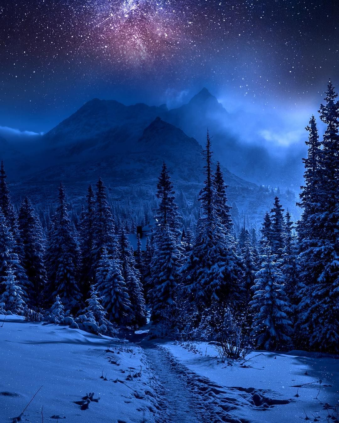 Pin By منيره المطيري On Awesome Stuff Night Sky Wallpaper Iphone Backgrounds Nature Beautiful Nature Wallpaper
