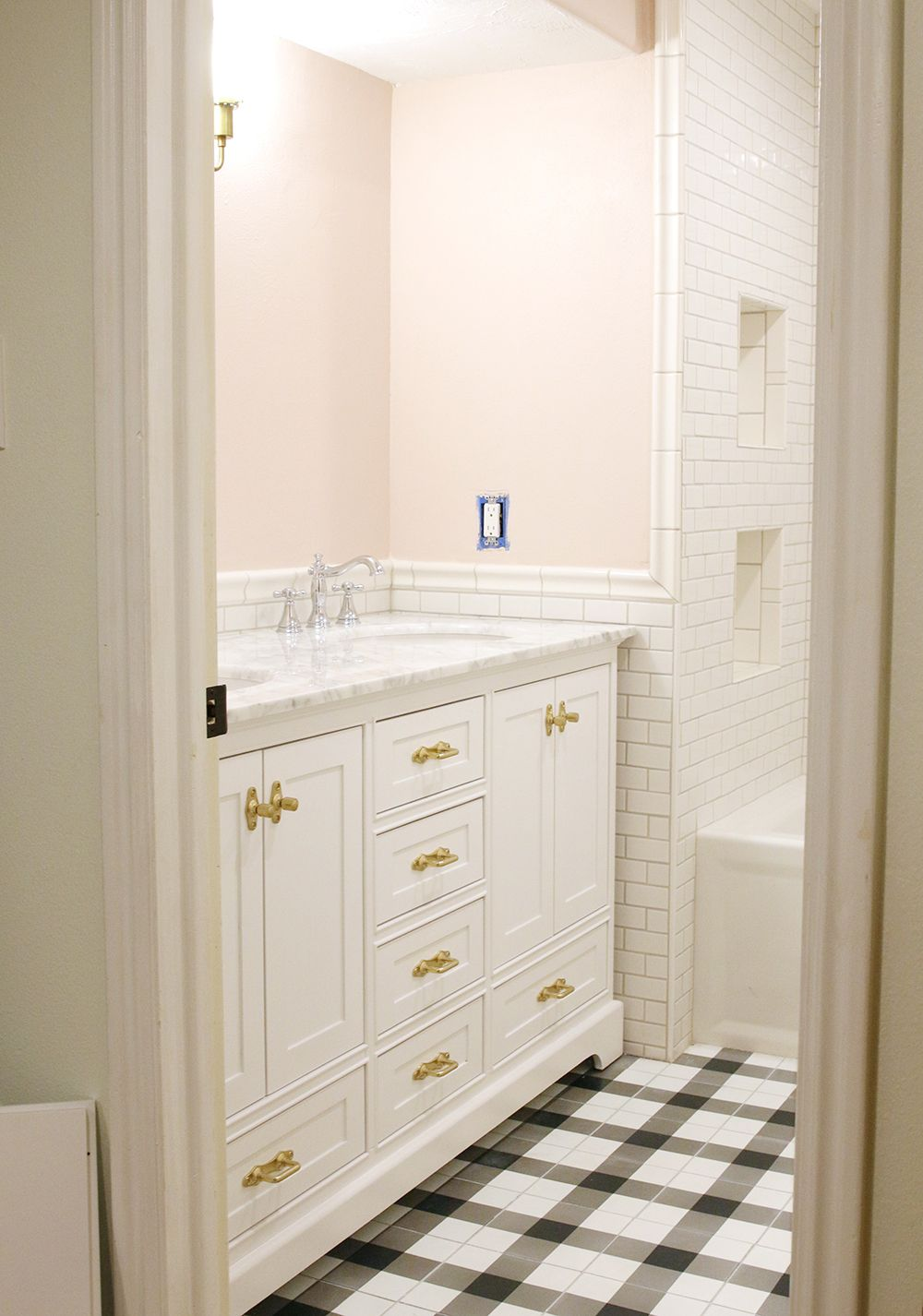 Choosing a Paint Color for Our Small, Windowless Bathroom | Farrow ...