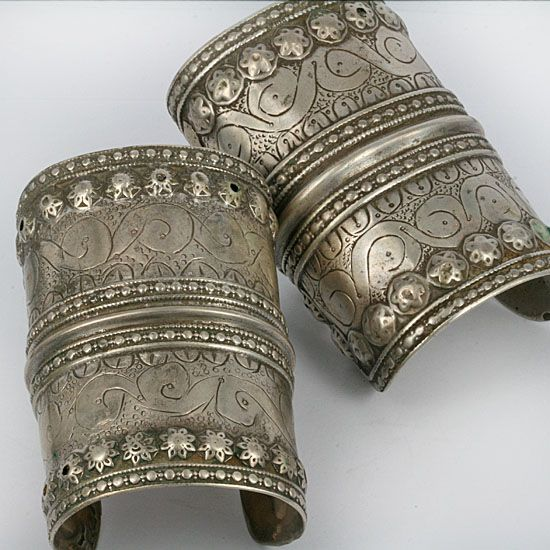 Stan Antique Silver Bracelets From Balochistan Ca Late 19th To Mid 20th Century