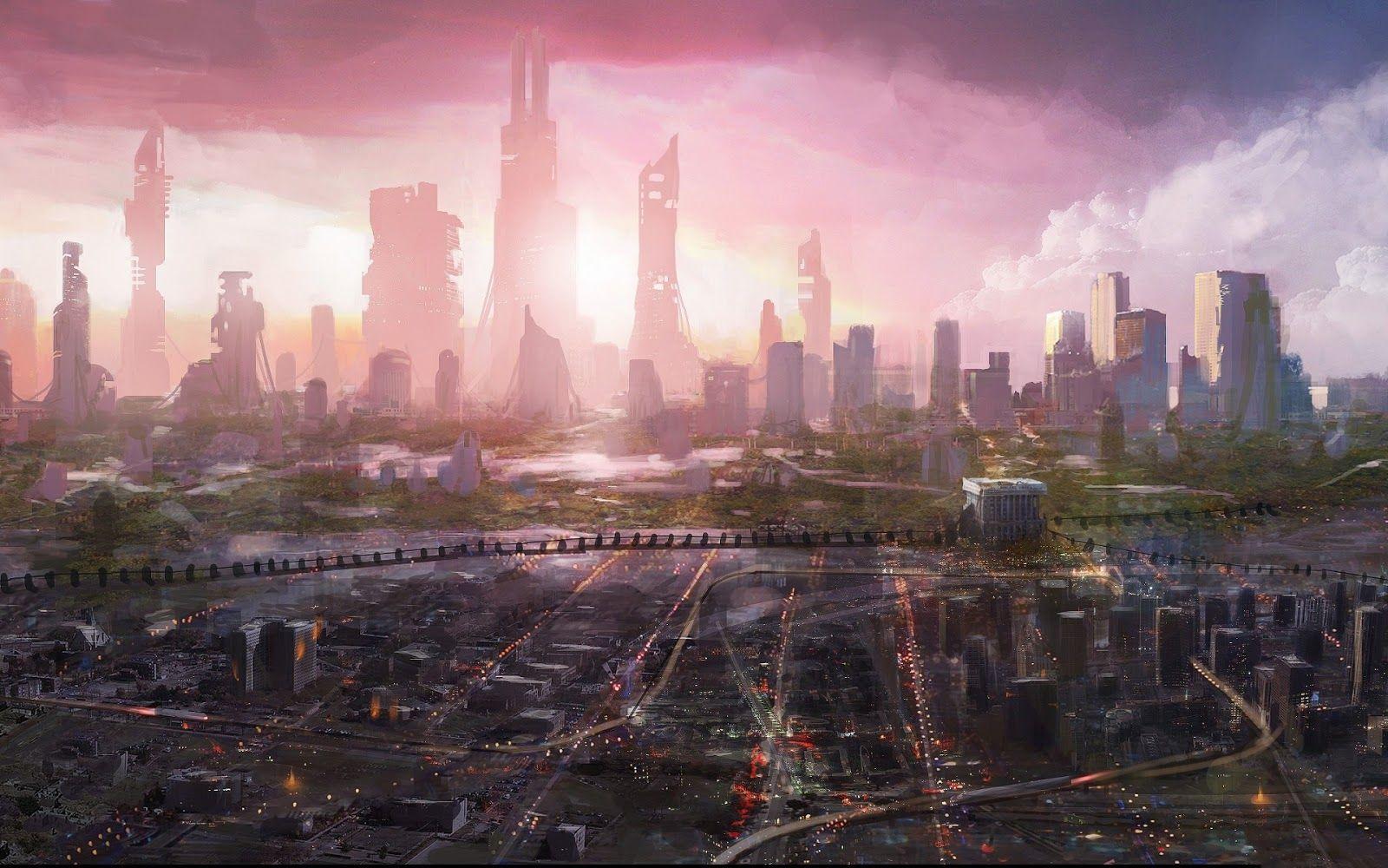 Futuristic City Conceptart Concept Photography Sketches Scifi Steampunk Steam Punk Purse Fashion Yolo Bonetech Steampunk City Futuristic City Fantasy Landscape