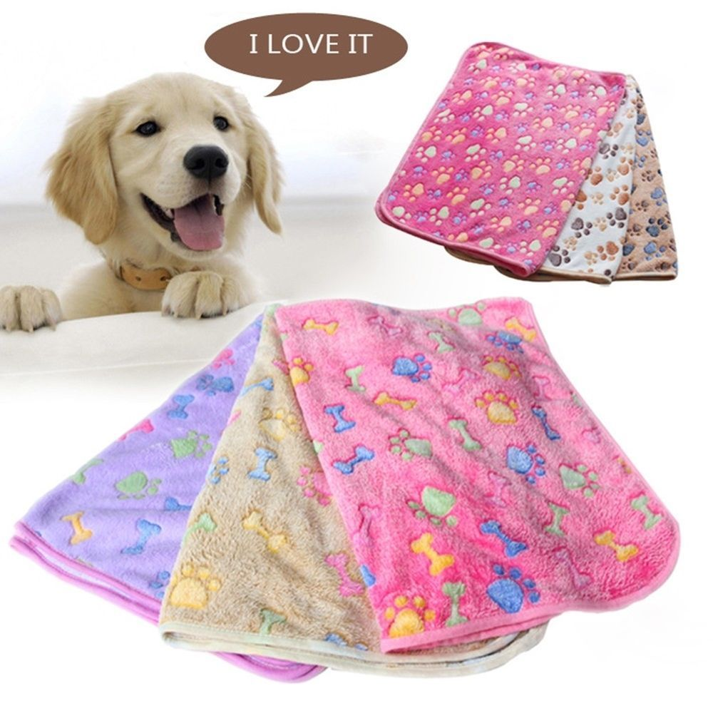 1x Pet Cat Dog Warm Mat Bed Cushion Small Large Paw Puppy