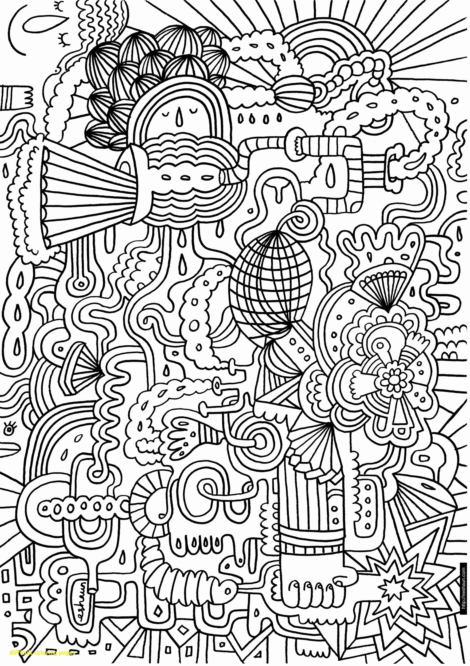 Hard Coloring Pages Pdf Lovely Coloring Book World Difficult Coloring Pages Book World Di 2020 Doodle Sketsa Stiker