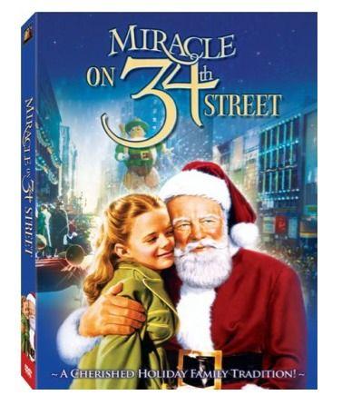 Miracle On 34th Street Dvd 4 99 Movies I Love Pinterest Cine Películas De Navidad Y Películas Navideñas