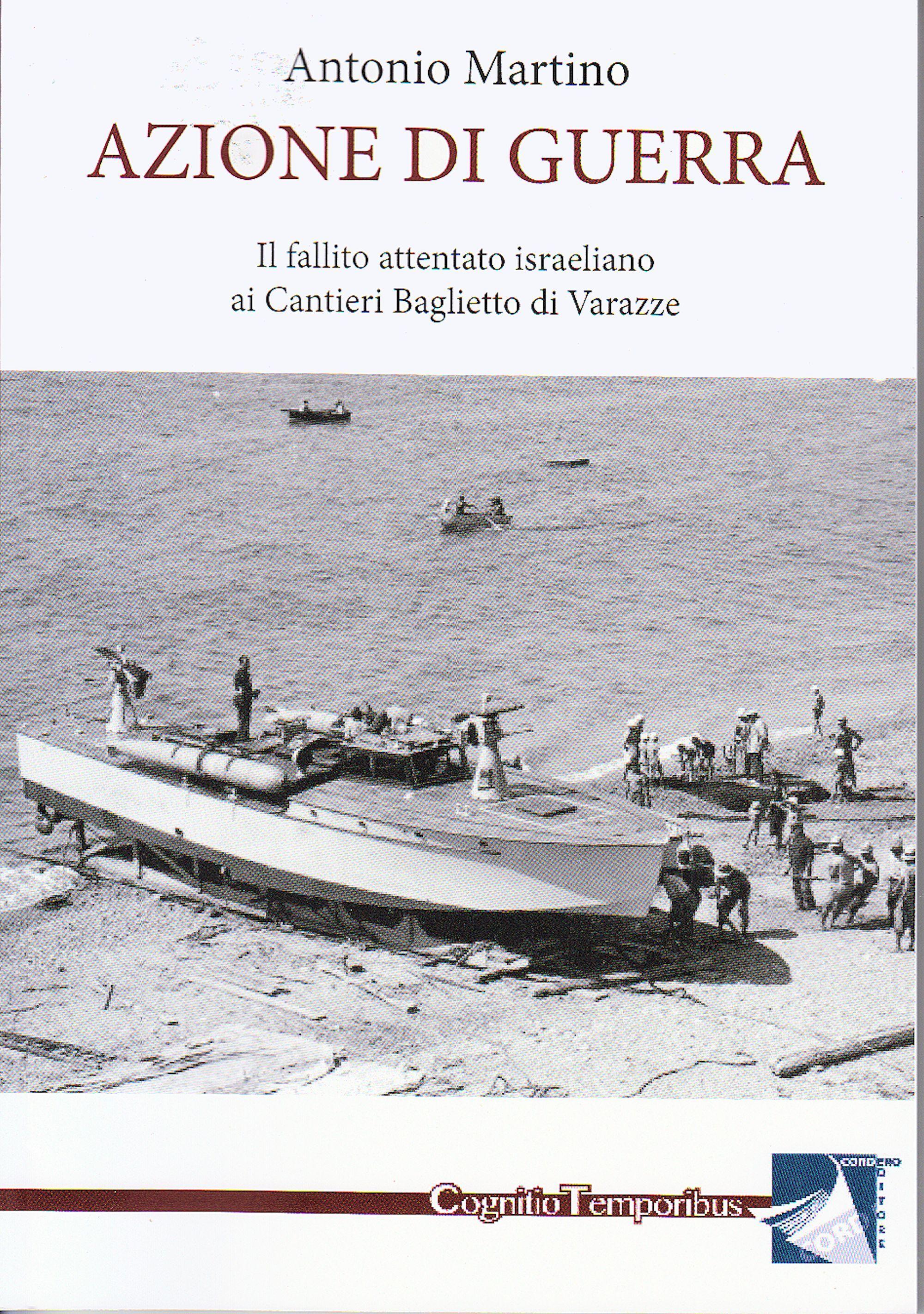 La mattina del 5 febbraio 1949, mentre in Medio Oriente è in corso la guerra arabo – israeliana, alla periferia di Varazze la Polizia Stradale ferma due uomini e una donna che nel bagagliaio della machina nascondono bombe pronte ad esplodere. Nelle settimane successive l'indagine porta alla luce un piano per distruggere, all'interno dei Cantieri Baglietto, tre imbarcazioni presumibilmente destinate alla Lega Araba: una missione segreta condotta da agenti di quello che di lì a pochi mesi sarà…