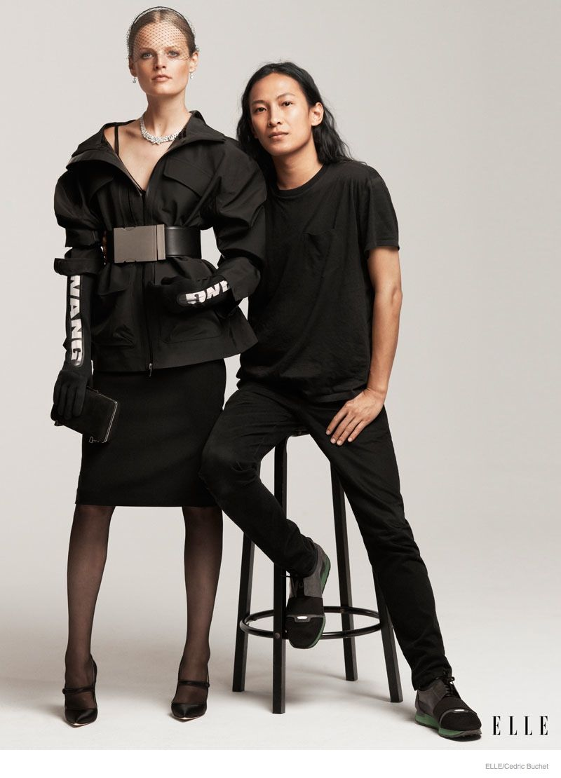 Fashion style Alexander elle wang x hm preview for girls