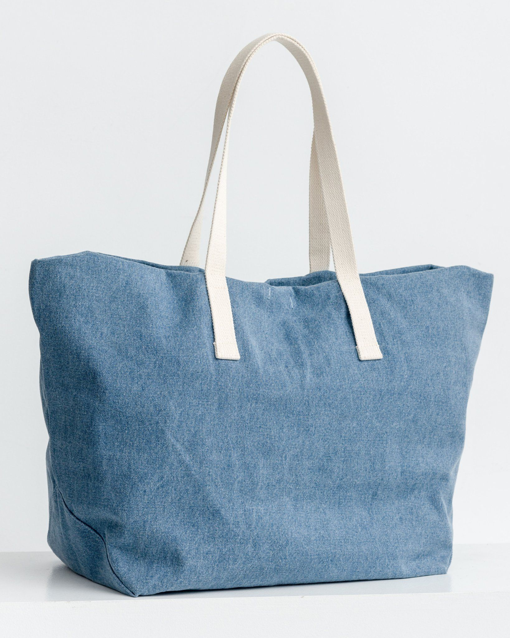 Forgot to Have Children Polyester Tote Bag by Dog is Good Yellow44; Blue One Bella Casa 72164TT18P 18 in