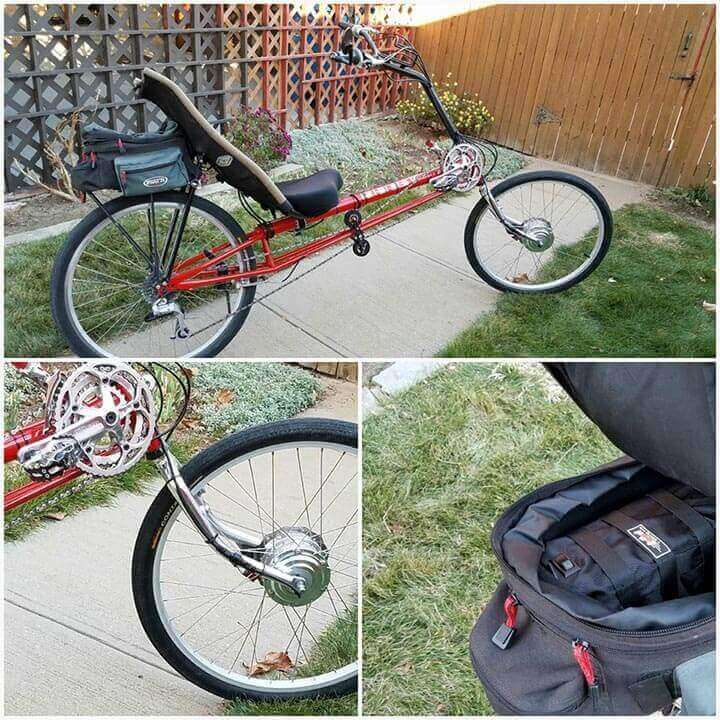 Electric Bike Conversion Kit On Recumbent Electric Bike Diy Electric Bike Kits Bike Kit