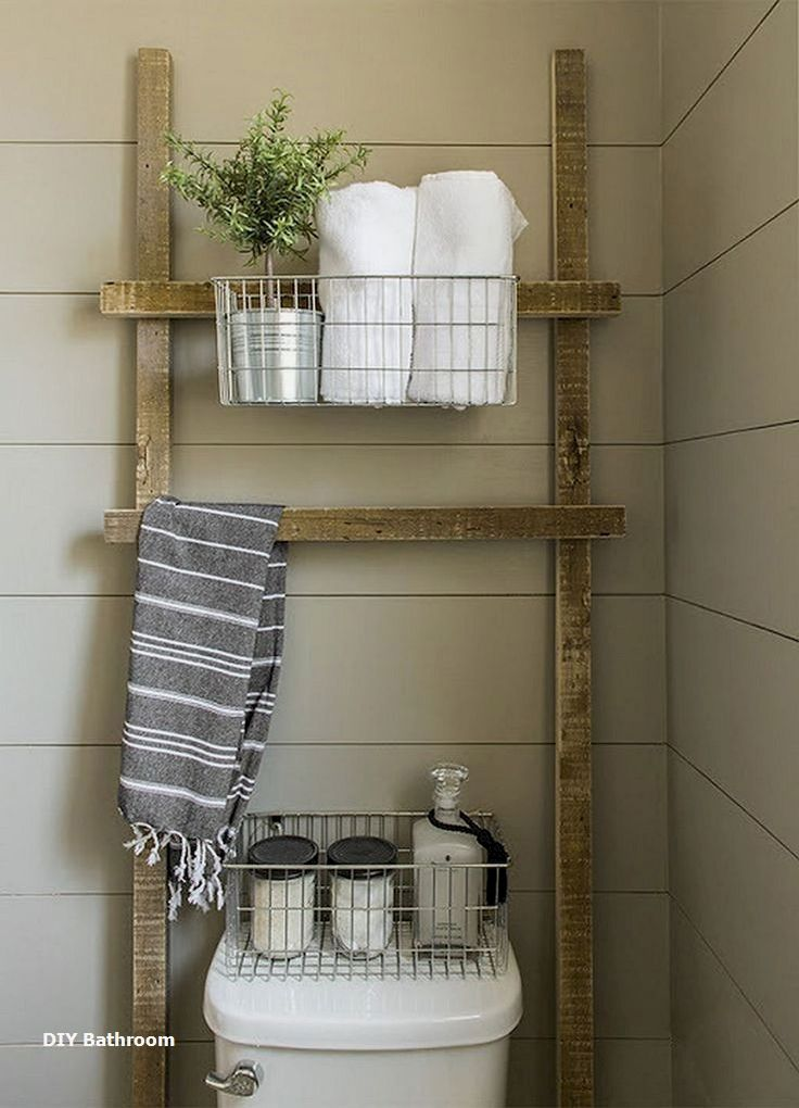 18 Incredible Rustic DIYs for the Bathroom: 1. Simple Jar Lightbulb ...