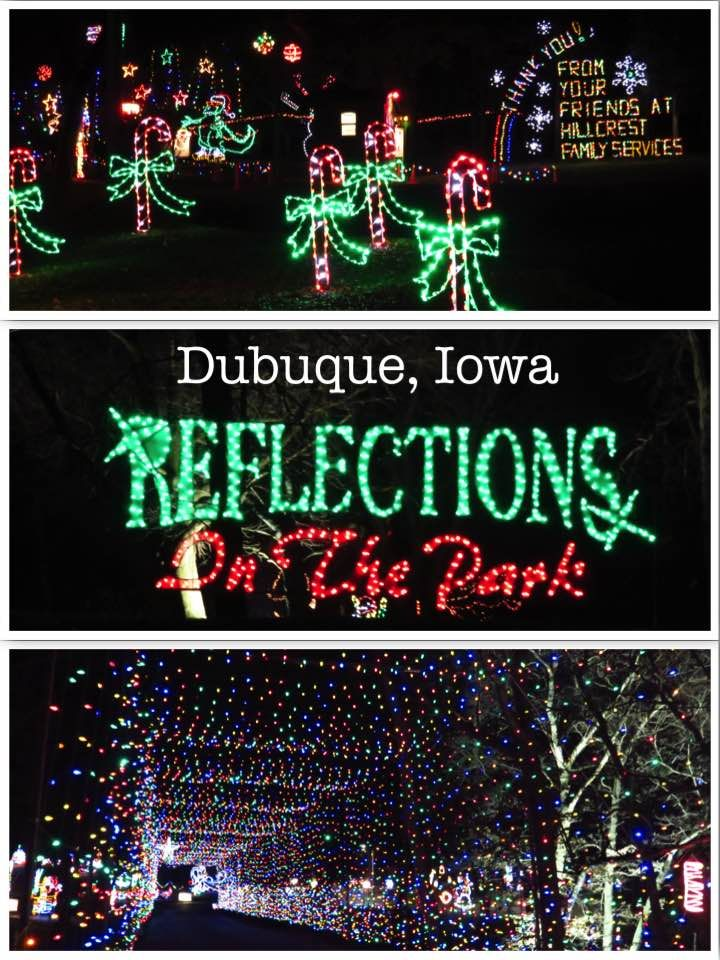 Drive Thru Christmas Light Displays Near Me.Reflections In The Park Dubuque Drive Thru Christmas Light
