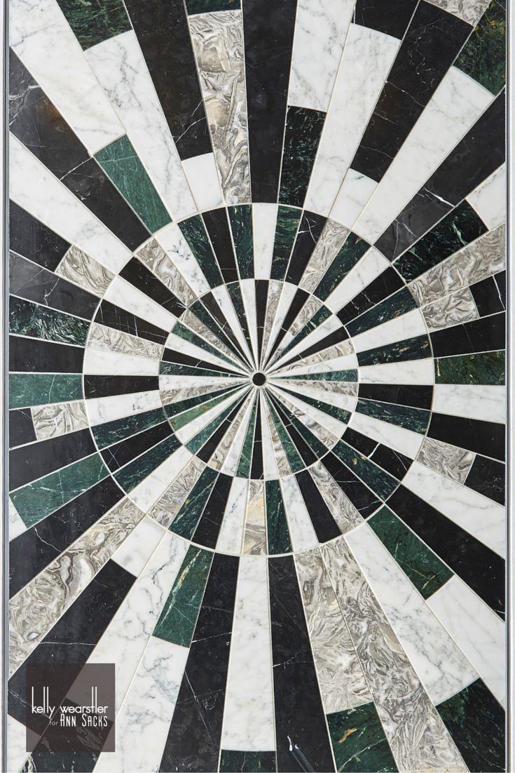 A Statement Worth Making Custom Stone Mosaic Floor