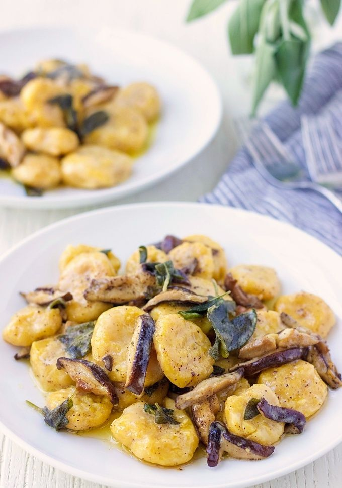 Classic Italian dish full of warm and comforting flavors. These Pumpkin Ricotta Gnocchi are a bomb and sure to delight your family and friends.