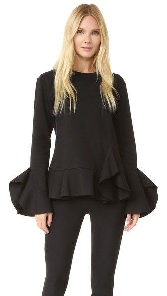 GOEN.J Long Sleeve Top. #goen.j #cloth #dress #top #shirt #sweater #skirt #beachwear #activewear